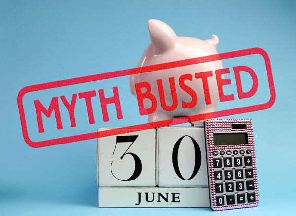 Myth Busted - EOFY - Communication Dividend