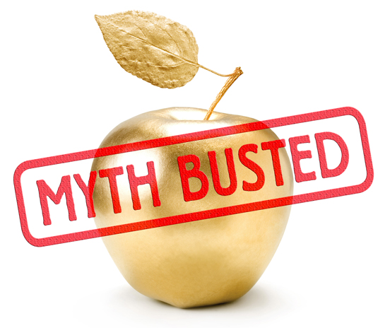 Myth Busted - Golden Apple - Communication Dividend
